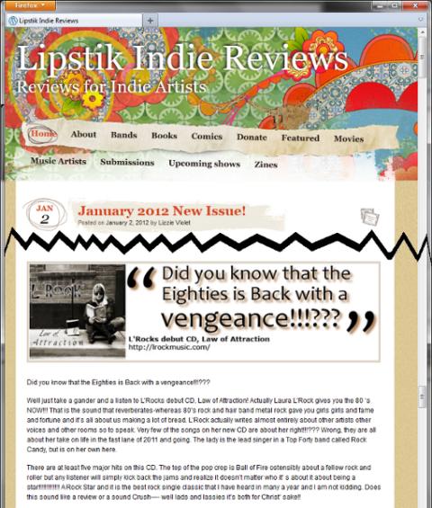 Photo Lipstick webpage